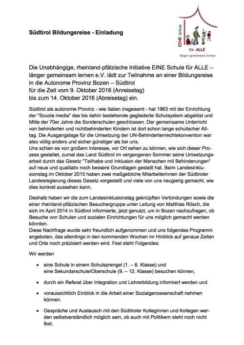 Südtirol-Einladung-Bildungsreisel